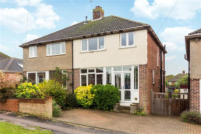 Guide Price £395,000, 3 Bedroom Semi Detached House For Sale in Oxfordshire, OX2
