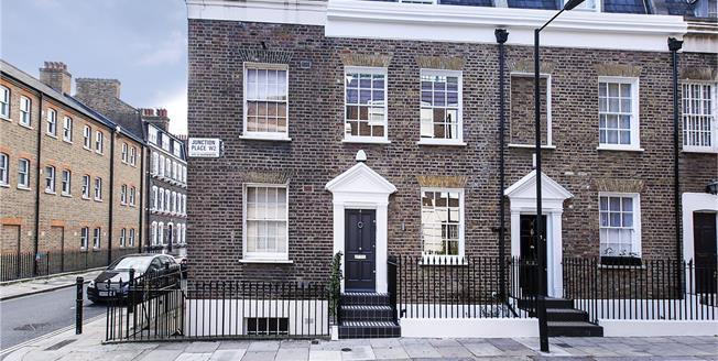 Asking Price £1,950,000, 3 Bedroom Terraced House For Sale in London, W2