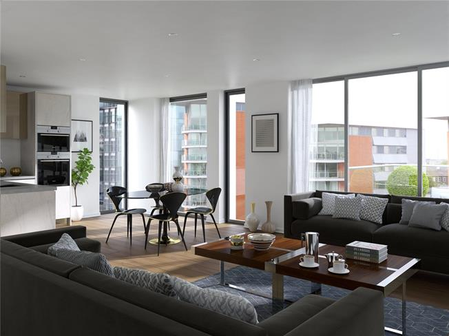 Asking Price £1,590,000, 2 Bedroom Flat For Sale in London, W2