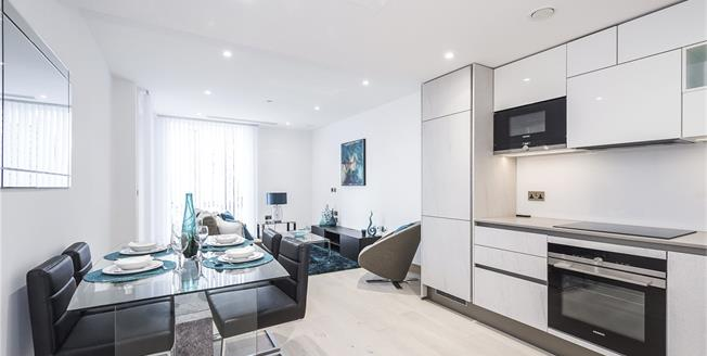 Asking Price £895,000, 1 Bedroom Flat For Sale in Hermitage Street, W2