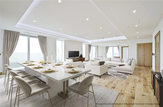 Asking Price £4,450,000, 4 Bedroom Flat For Sale in London, W2