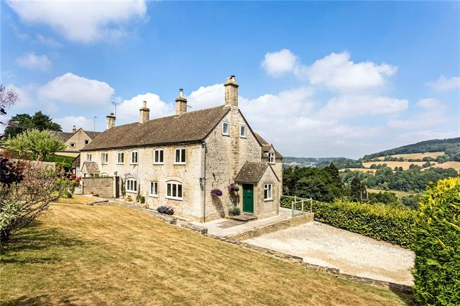 Asking Price £525,000, 3 Bedroom Semi Detached House For Sale in Sheepscombe, Stroud, GL6