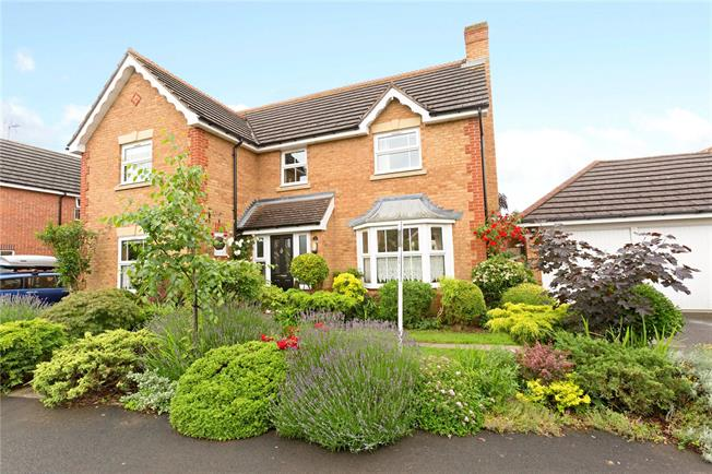 Asking Price £370,000, 4 Bedroom Detached House For Sale in Abbeymead, GL4