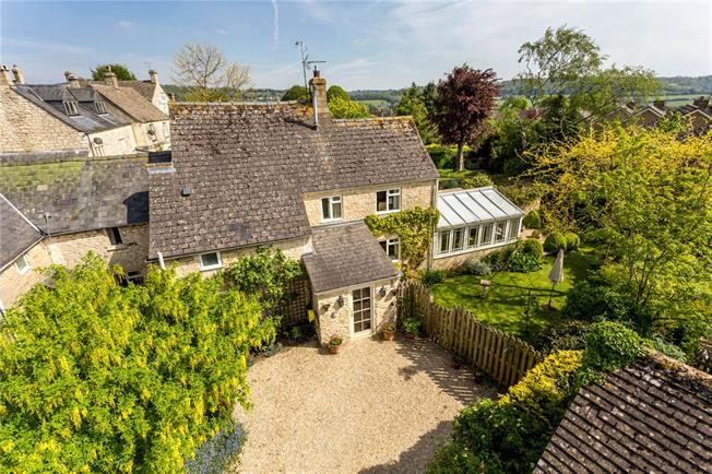 Offers in the region of £525,000, 3 Bedroom Semi Detached House For Sale in Painswick, Stroud, GL6