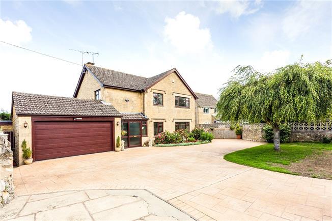 Asking Price £550,000, 4 Bedroom Detached House For Sale in Brookthorpe, GL4