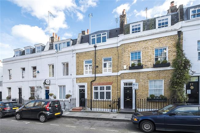 Asking Price £1,695,000, 4 Bedroom Terraced House For Sale in London, SW1V