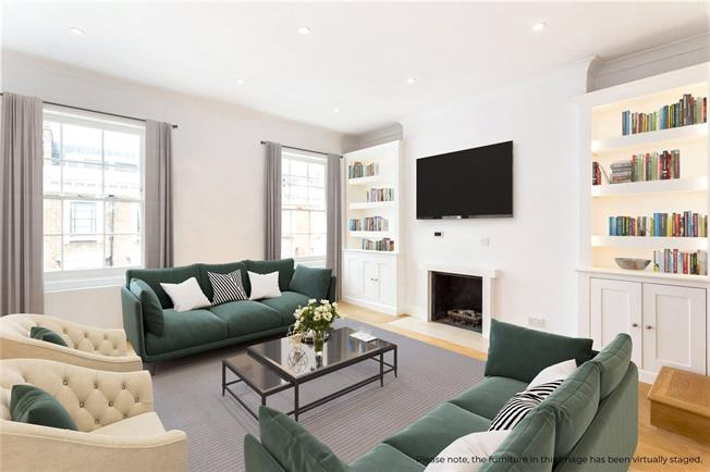 Asking Price £995,000, 2 Bedroom Flat For Sale in London, SW1V