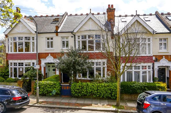 Asking Price £1,575,000, 4 Bedroom Terraced House For Sale in London, SW18