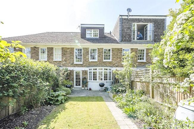 Asking Price £1,195,000, 4 Bedroom Terraced House For Sale in London, SW13