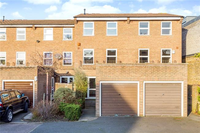 Asking Price £799,950, 4 Bedroom Terraced House For Sale in London, SW15