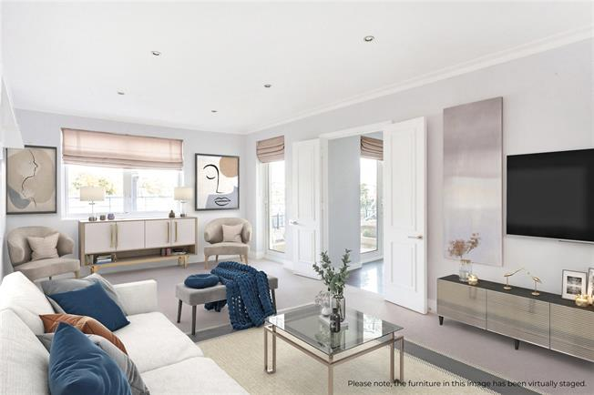 Asking Price £550,000, 1 Bedroom Flat For Sale in London, SW18