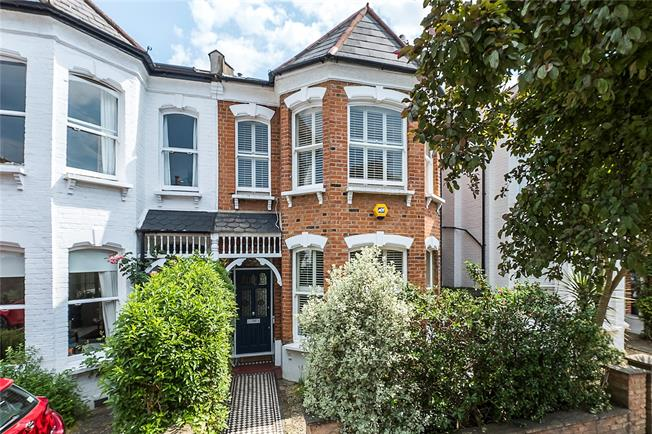 Guide Price £1,650,000, 4 Bedroom Terraced House For Sale in East Twickenham, TW1