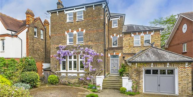 Guide Price £5,500,000, 7 Bedroom Detached House For Sale in Twickenham, TW1