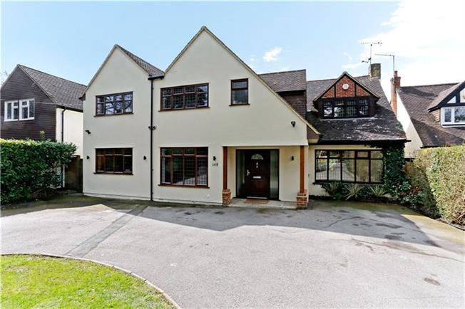 Guide Price £1,350,000, 6 Bedroom Detached House For Sale in Watford, WD17