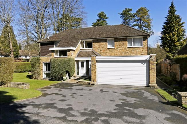 Guide Price £1,200,000, 4 Bedroom Detached House For Sale in Loudwater, WD3