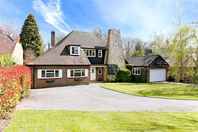 Guide Price £1,190,000, 5 Bedroom Detached House For Sale in Loudwater, WD3