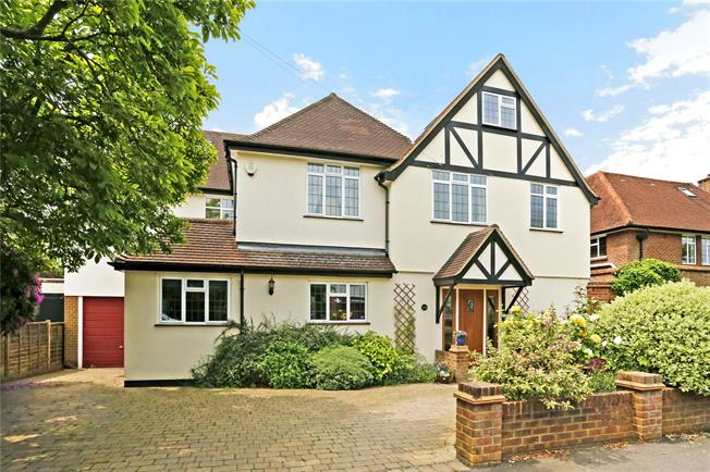 Guide Price £1,450,000, 6 Bedroom Detached House For Sale in Watford, WD17