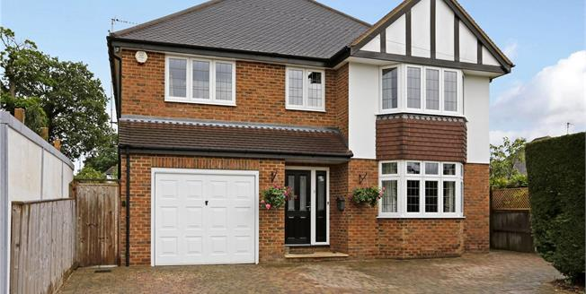 Guide Price £999,000, 4 Bedroom Detached House For Sale in Watford, WD17
