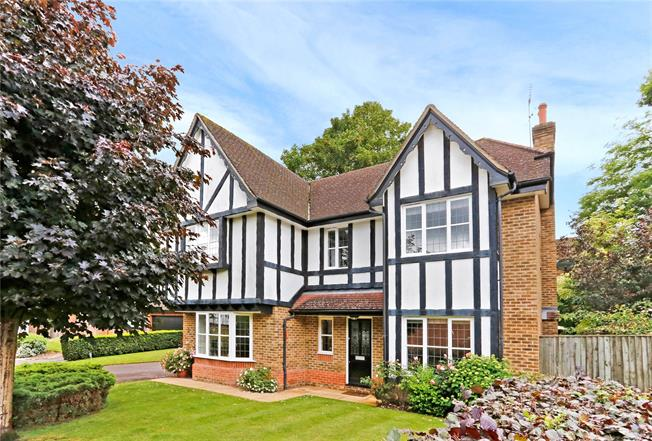 Guide Price £1,250,000, 5 Bedroom Detached House For Sale in Watford, WD17