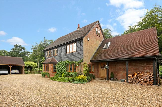 Guide Price £1,500,000, 5 Bedroom Detached House For Sale in Sarratt, WD3