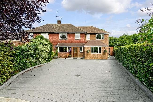 Guide Price £850,000, 5 Bedroom Semi Detached House For Sale in Rickmansworth, WD3