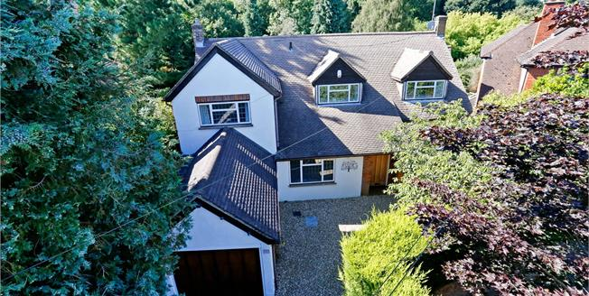 Guide Price £1,150,000, 4 Bedroom Detached House For Sale in Watford, WD17