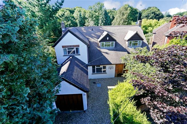 Guide Price £1,150,000, 4 Bedroom Detached House For Sale in Hertfordshire, WD17