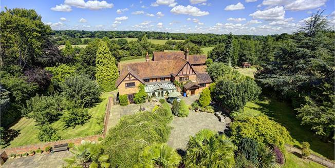 Guide Price £3,150,000, 4 Bedroom Detached House For Sale in Rickmansworth, Hertfordsh, WD3