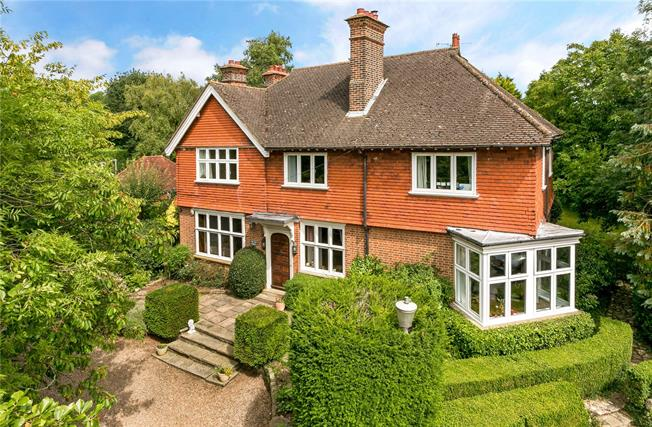 Price on Application, 5 Bedroom Detached House For Sale in Croxley Green, WD3
