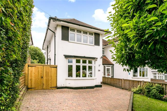 Offers in excess of £600,000, 3 Bedroom Semi Detached House For Sale in Watford, WD19
