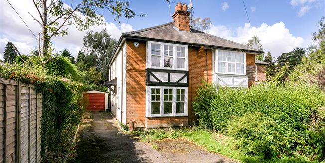Guide Price £565,000, 2 Bedroom Semi Detached House For Sale in Heronsgate, WD3