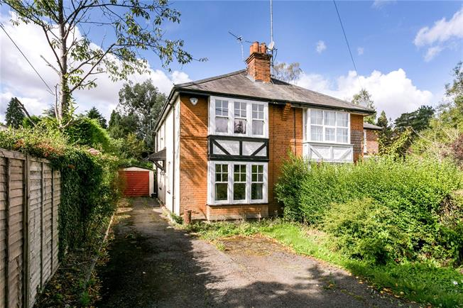 Guide Price £600,000, 2 Bedroom Semi Detached House For Sale in Heronsgate, WD3