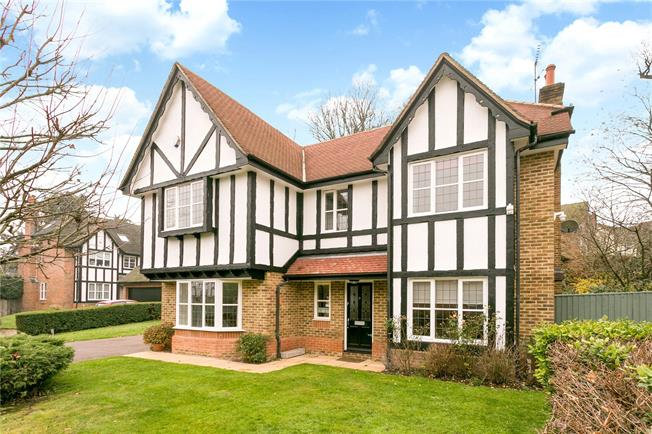 Guide Price £1,275,000, 5 Bedroom Detached House For Sale in Watford, WD17