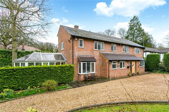 Guide Price £1,425,000, 5 Bedroom Detached House For Sale in Hertfordshire, WD3
