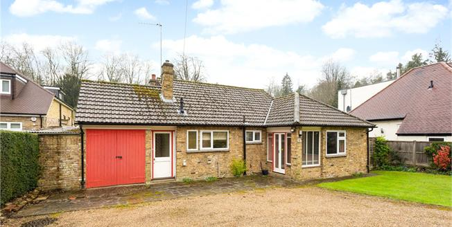 Guide Price £900,000, 3 Bedroom Bungalow For Sale in Hertfordshire, WD3
