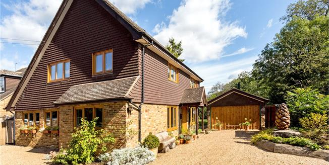 Guide Price £1,150,000, 4 Bedroom Detached House For Sale in Hertfordshire, WD4