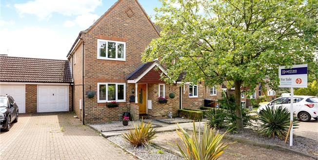 Guide Price £535,000, 4 Bedroom End of Terrace House For Sale in Hertfordshire, WD3