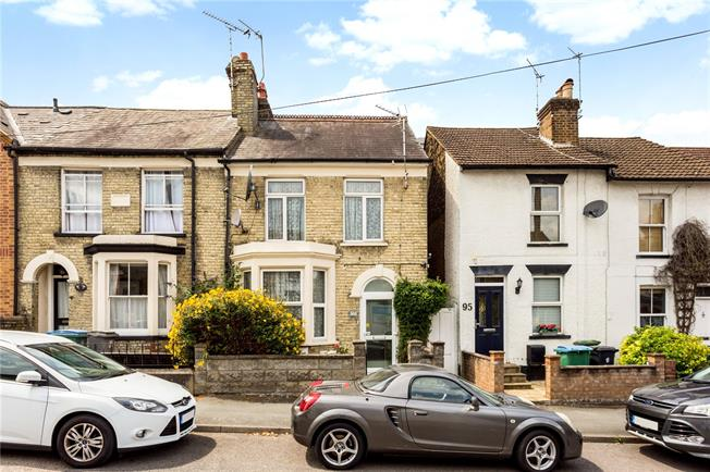 Guide Price £375,000, 2 Bedroom End of Terrace House For Sale in Watford, WD17
