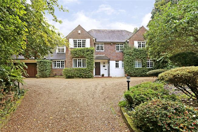 Guide Price £1,495,000, 5 Bedroom Detached House For Sale in Loudwater, WD3