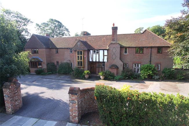 Guide Price £2,999,950, 5 Bedroom Detached House For Sale in St. Albans, AL1