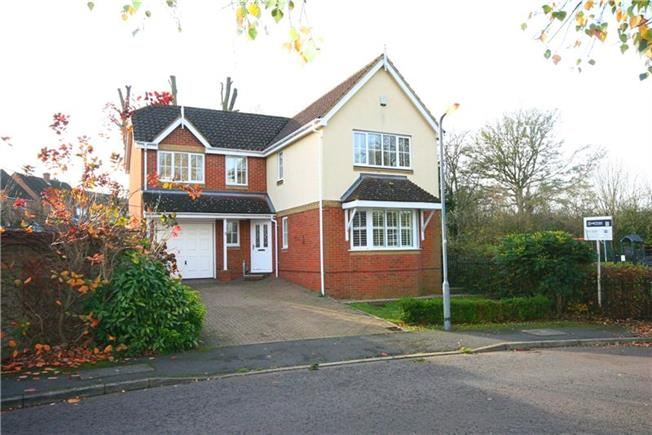 Guide Price £825,000, 4 Bedroom Detached House For Sale in Hertfordshire, AL4