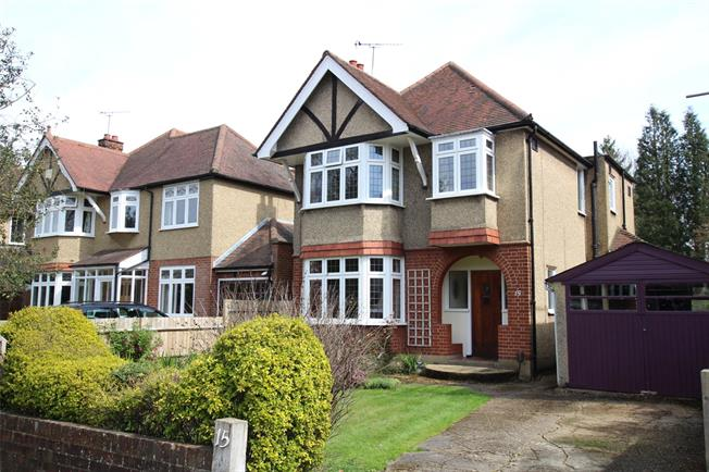 Guide Price £1,225,000, 3 Bedroom Detached House For Sale in St. Albans, AL1