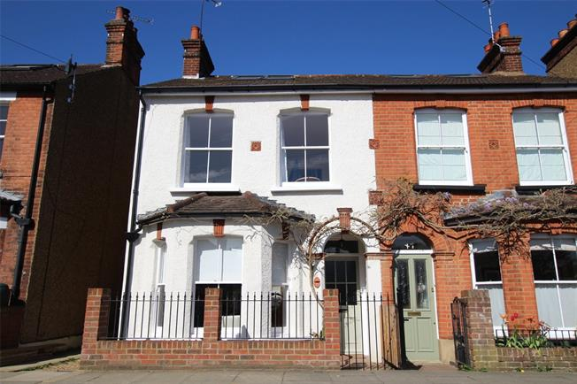 Guide Price £850,000, 5 Bedroom Semi Detached House For Sale in St. Albans, AL1