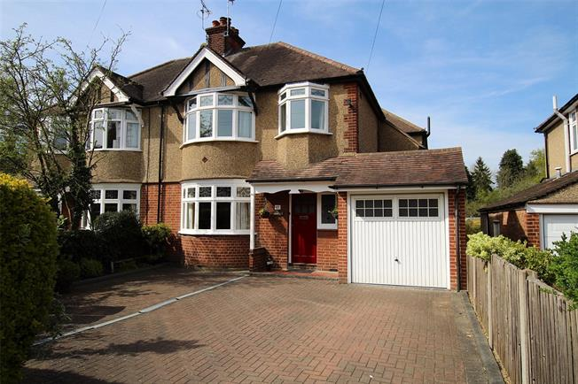 Guide Price £1,150,000, 4 Bedroom Semi Detached House For Sale in St. Albans, AL1