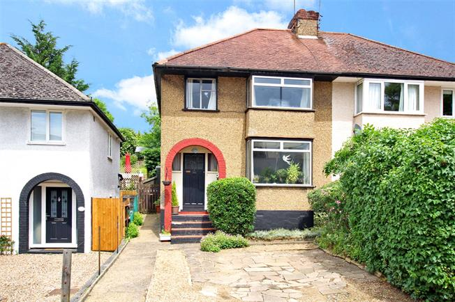 Guide Price £500,000, 3 Bedroom Semi Detached House For Sale in St. Albans, AL3