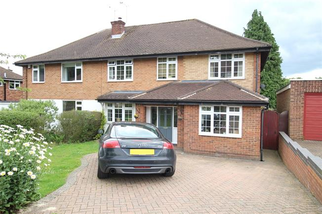 Guide Price £860,000, 5 Bedroom Semi Detached House For Sale in St. Albans, AL4