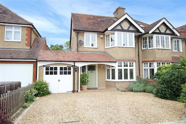 Guide Price £1,200,000, 4 Bedroom Semi Detached House For Sale in St. Albans, AL1