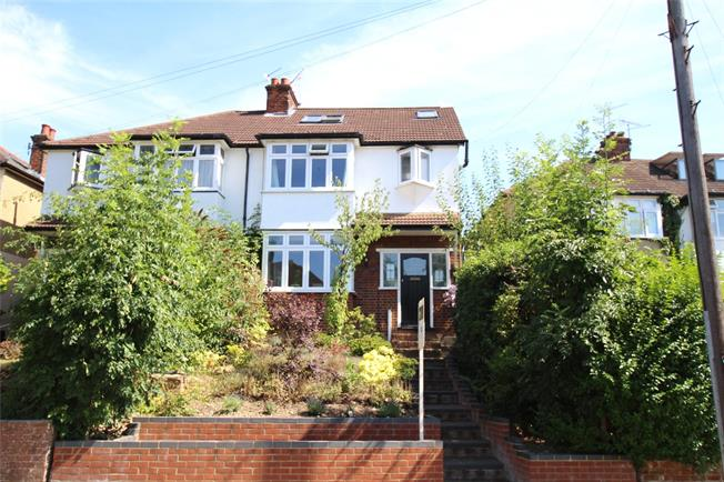 Guide Price £750,000, 4 Bedroom Semi Detached House For Sale in St. Albans, AL3