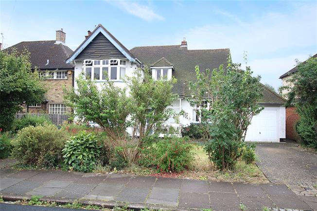 Guide Price £1,250,000, 3 Bedroom Detached House For Sale in St. Albans, AL1