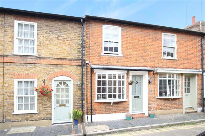 Guide Price £525,000, 2 Bedroom Terraced House For Sale in Hertfordshire, AL3
